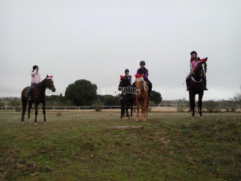 Equitazione a Christmas Camp