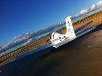 In the runway