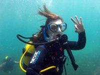 Inmersión de buceo doble en costa de Gibraltar