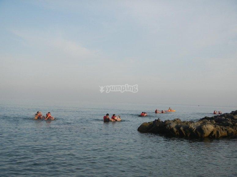 Gita in canoa attraverso la Costa del Sol