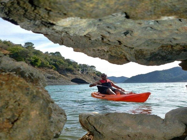 Ruta en canoa por Sierra de las Nieves