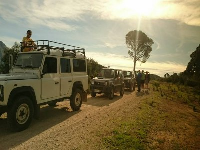 Jeep safari and kayaking in Sierra de las Nieves