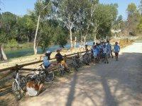 Rutas en bici para escolares