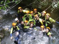 Canyoning as you've never seen
