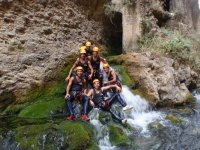 Group of canyons posing