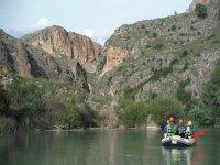 Rafting por lugares especiales