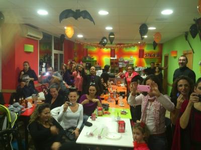 Fiesta de Halloween en Xirivella con cena