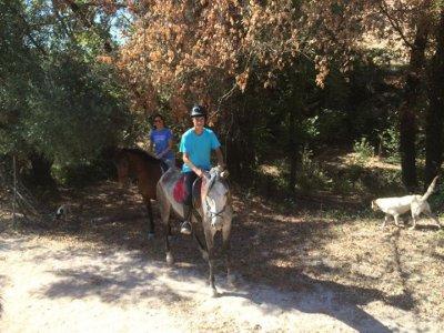 Ruta a caballo en pareja en Morón 1 hora
