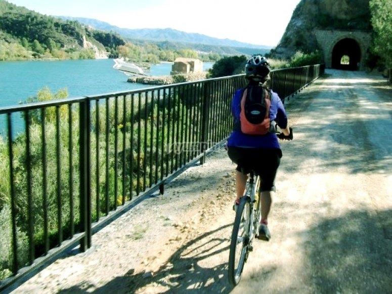 Bici en via verde
