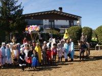 Fiesta de carnaval en la hipica