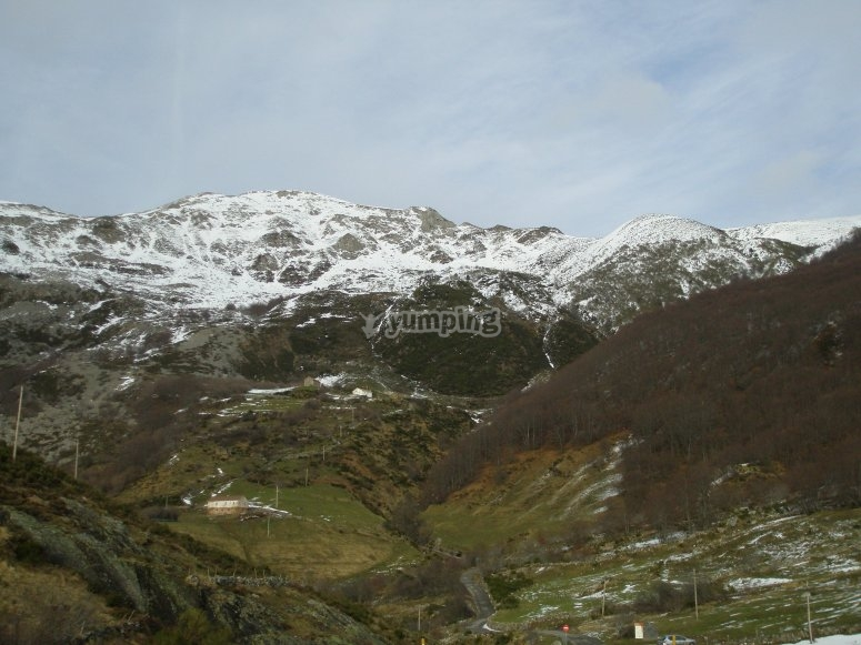 Montagne innevate a Somiedo