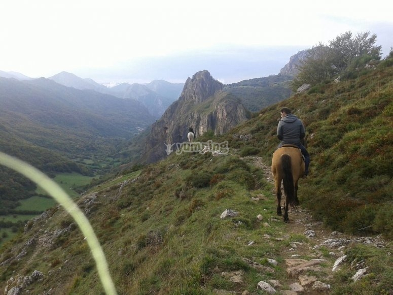 Passeggiate a cavallo a Somiedo