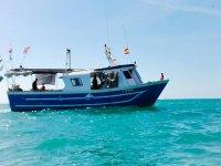 Salida de pesca en la Costa del Azahar