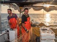 Pesca artesanal amanecer