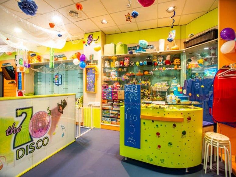 Lugar para celebrar fiestas infantiles