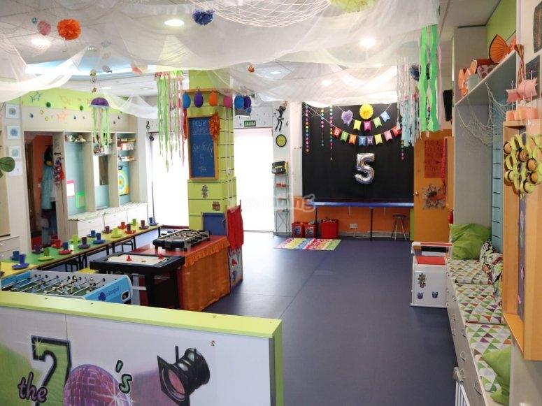 Sala principal de nuestro centro de ocio en Las Rozas