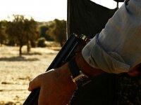 cargando la escopeta
