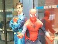 Conviértete en tu superhéroe favorito