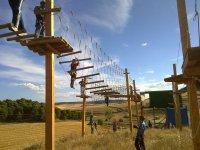 Multiaventura en circuito de madera