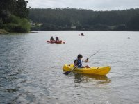 Kayak en embalse
