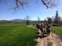 Excursion infantil a caballo
