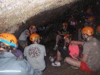 Speleology exit Cuevas de Ronda