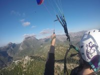 Paragliding in mountains of Ronda