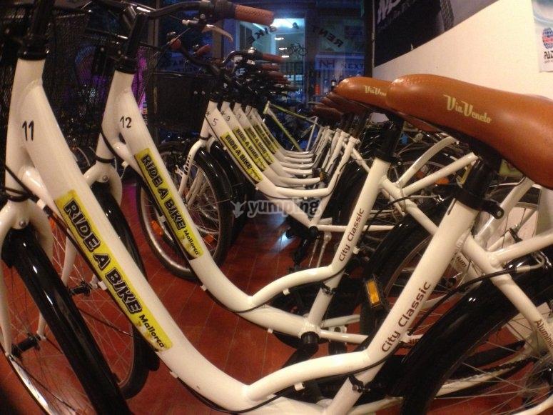 Bicicleta cómoda
