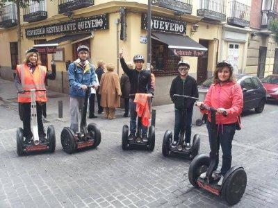 Paseo en segway en exclusiva por Madrid, 2 horas