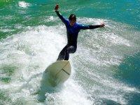Surfing en costa gaditana