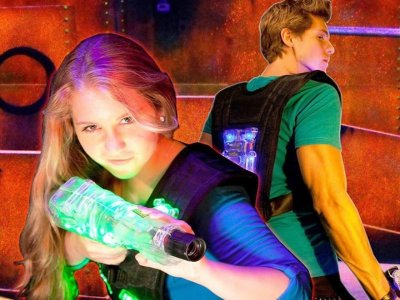 Pack 2 laser tag games in Alfafar 20 minutes