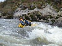 Hacer rafting en el río Ulla con fotos gratis