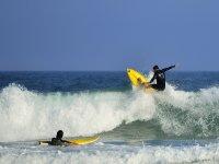 Surfeando en El Palmar