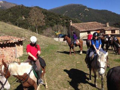 Hípica Malla Rutas a caballo