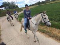 Paseos a caballo por la naturaleza
