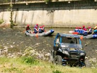 Salida en buggy biplaza y rafting en Llavorsí