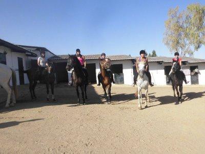 Paseo a caballo en Salinas de 1 hora