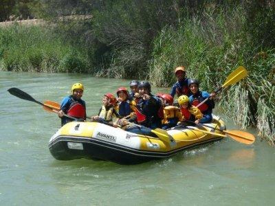 Rafting + trekking Hoces del Cabriel Colegios