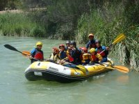 Rafting + Trekking, Cabriel's gorge for Schools