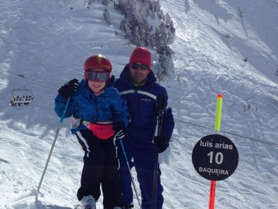 Skiing Lessons for Children in Baqueira - 2 Days