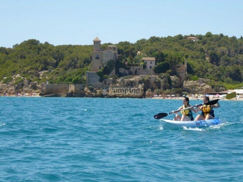 Recorre Tamarit en kayak