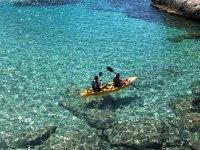 Salida en kayak por Playa de Tamarit