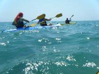 Ruta en kayak de mar en el Mediterráneo 1 día