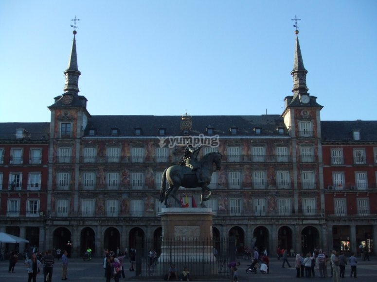 Discover Madrid of the Austrians.