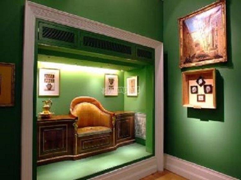En el Museo del Romanticismo en Madrid