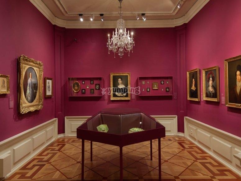 Habitación del Museo del Romanticismo