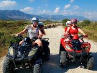 Ruta en quad doble en la Costa del Sol 2 horas