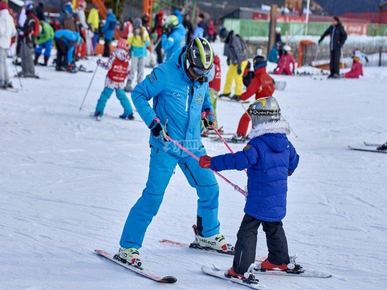 Port del Comte的滑雪课