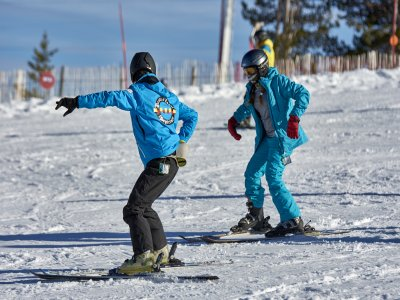 Private Ski Lessons in Port del Compte, 1 day