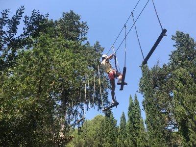 Báscara的Tirolina和冒险运动